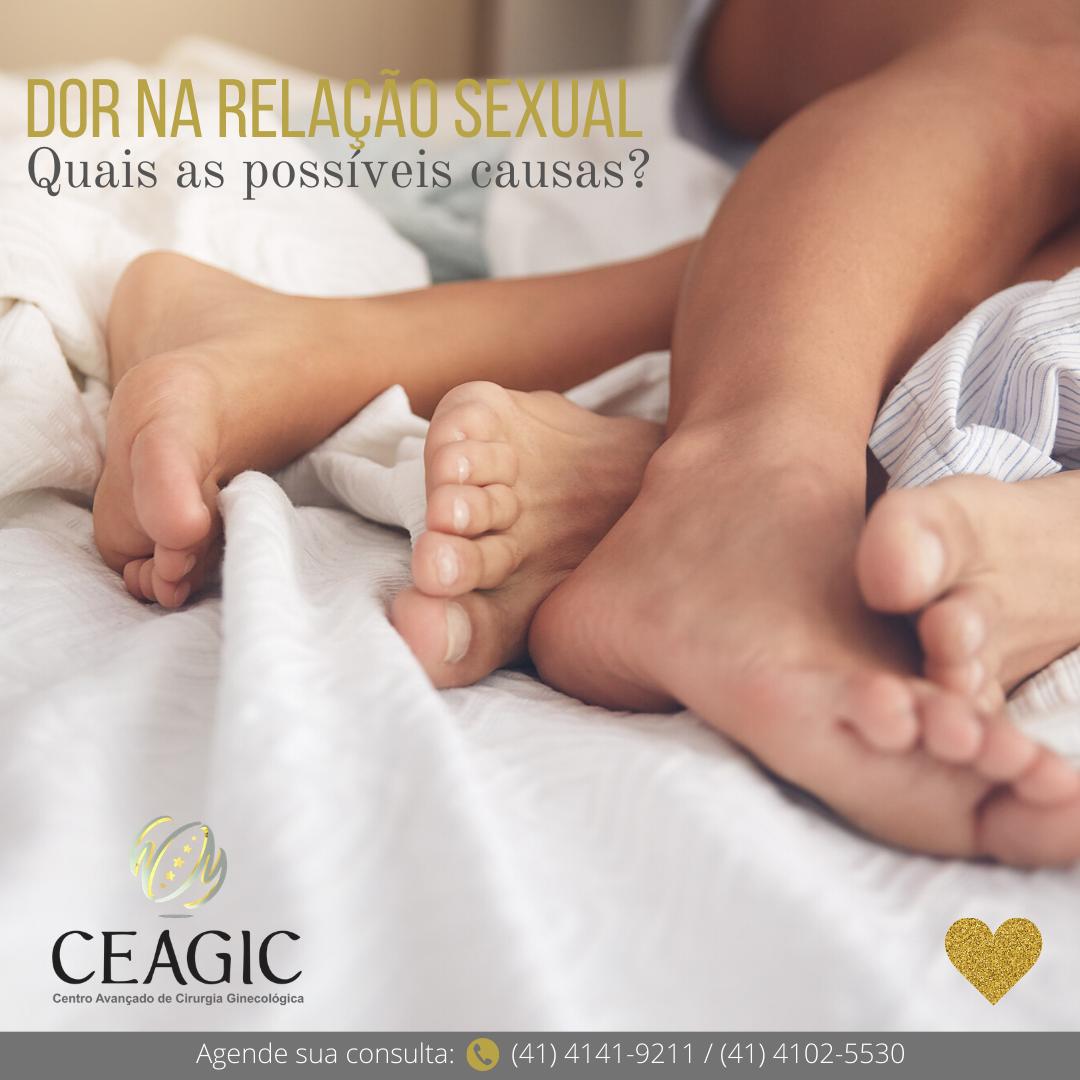 Dor na relação sexual: Quais as possíveis causas?